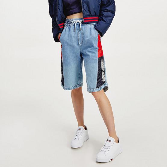 Tommy Jeans Elastic Denim Women's Shorts