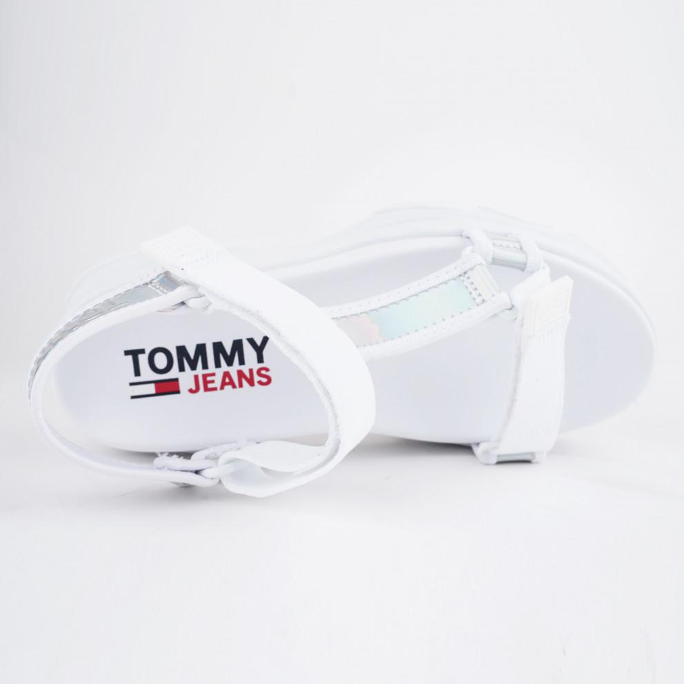 Tommy Jeans Iridescent Hybrid Γυναικεία Σανδάλια
