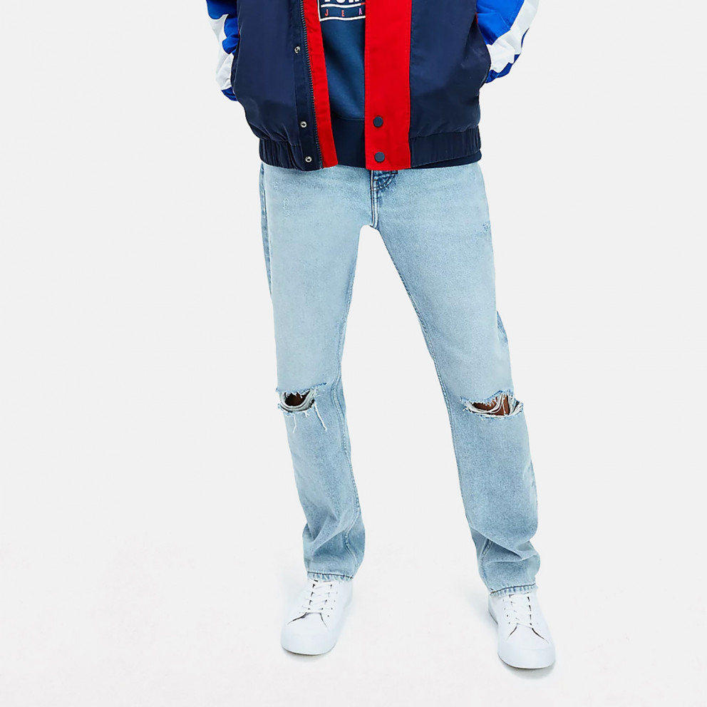 Tommy Jeans Ethan Relaxed Dis-Tressed Ανδρικό Παντελόνι (Μήκος 34L)