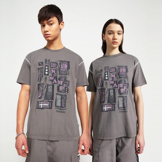Napapijri S-Kee  Gargoyle Unisex T-Shirt