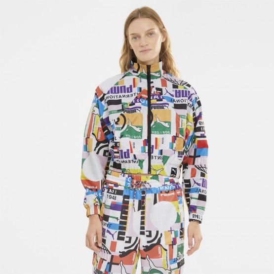 Puma International Printed Woven Γυναικείο Jacket