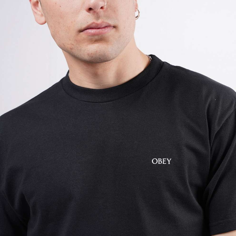 Obey Paint It Black Ανδρικό T-Shirt