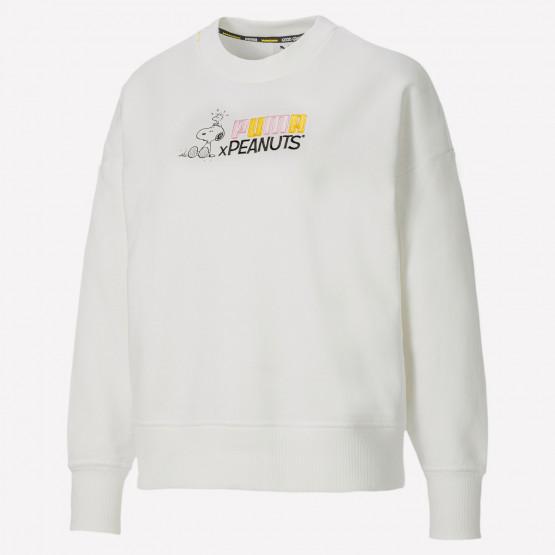 Puma X Peanuts Women's Crewneck Sweatshirt