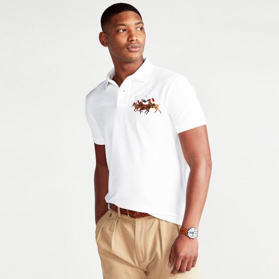 Polo Ralph Lauren Triple-Pony Ανδρικό Polo T-shirt