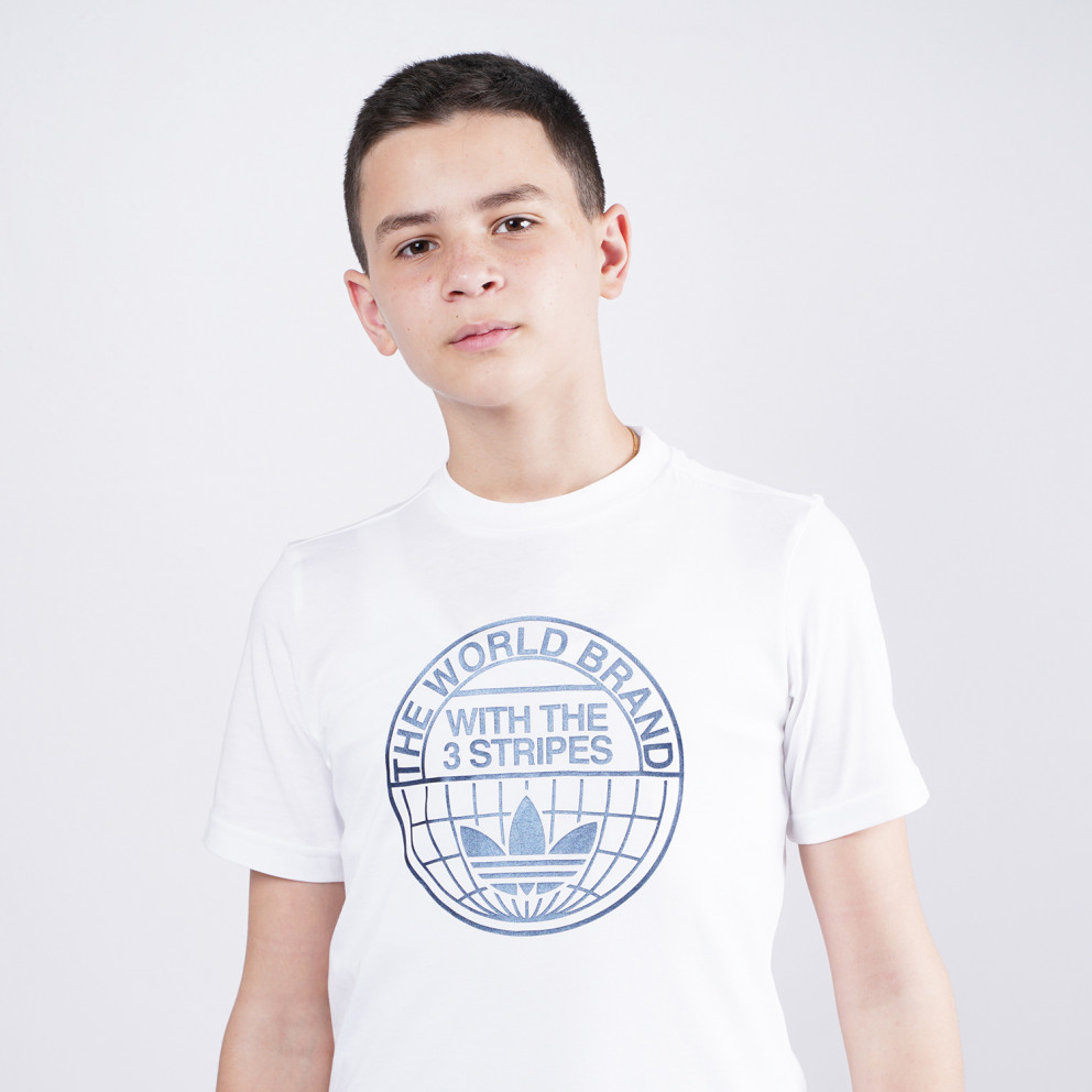 adidas Originals Graphic Print Tee Παιδικό T-shirt Για Μεγάλα Παιδιά