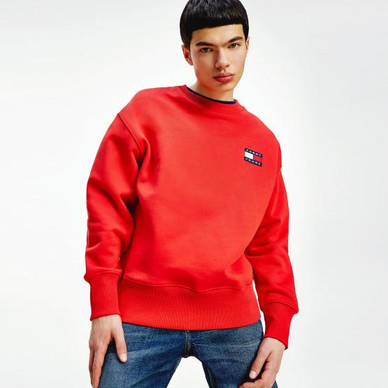 Tommy Jeans Badge Crew Neck Men's Sweatshirt