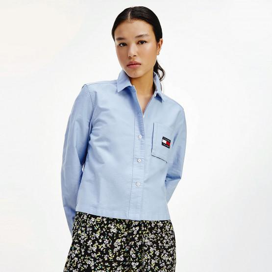 Tommy Jeans Women's Dress Shirt