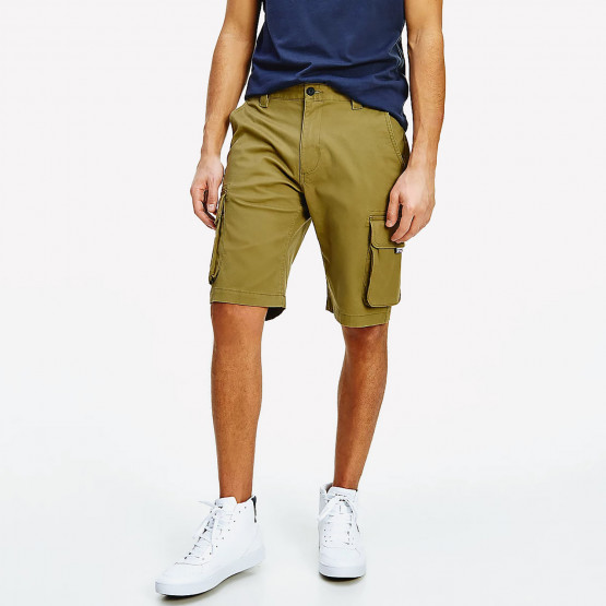 Tommy Jeans Washed Cargo Men's Shorts