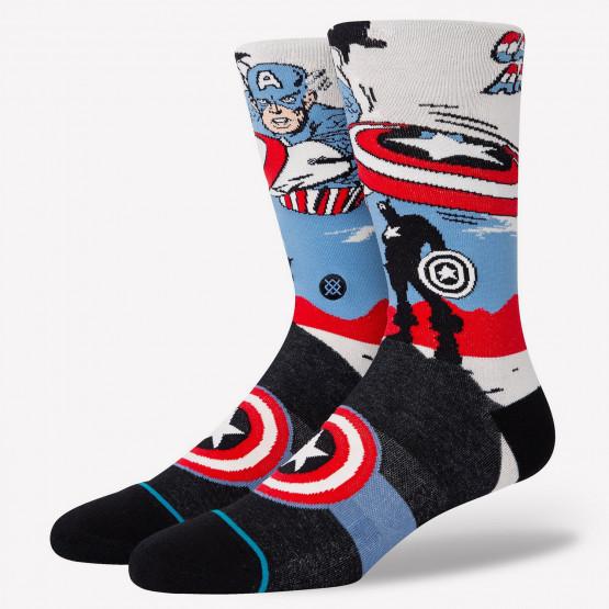 Stance X Marvel Captain America Marquee Ανδρικές Κάλτσες