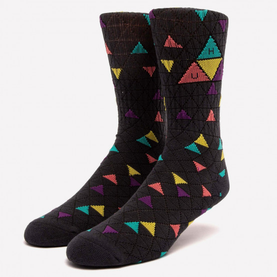 Huf  Triple Triangle Pattern Unisex Socks