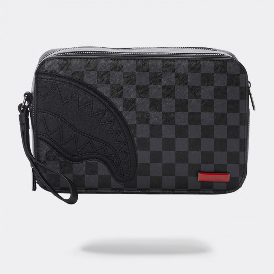 Sprayground Henny Black Square Toiletry Bag