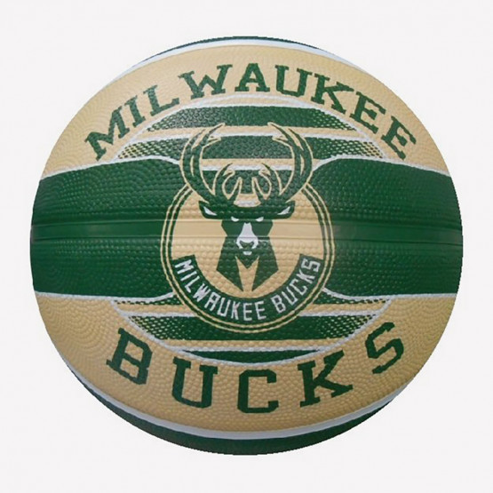 Spalding NBA Milwaukee Bucks Μπάλα Μπάσκετ - Size 7