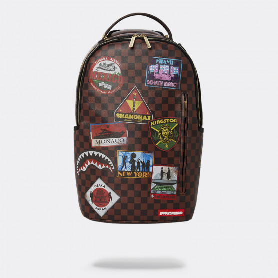 Sprayground Travel Patches Unisex Backpack