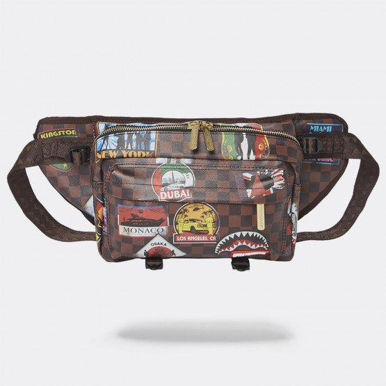 Sprayground Travel Patches Crossbody