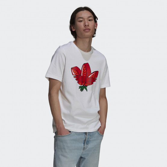 adidas Originals Strawberry Trefoil Ανδρικό T-shirt