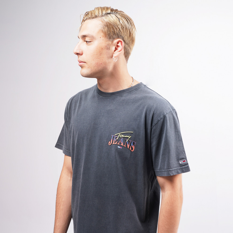 Tommy Jeans Diamond Back Logo Men's T-Shirt