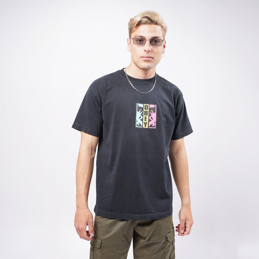 Obey Divided Heavyweight Men's T-shirt