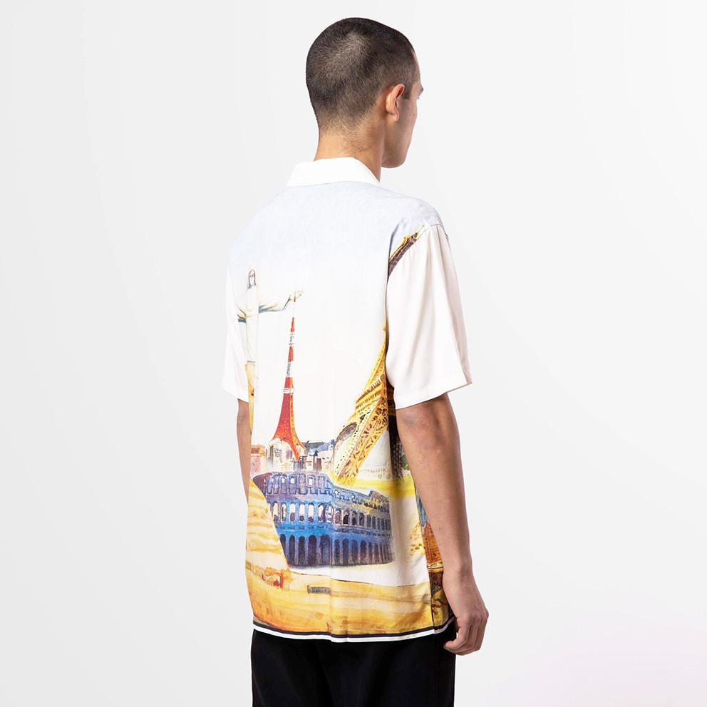 Huf Prestige Short Sleeve Resort Men's Shirt