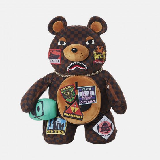 Sprayground Travel Patches Bear