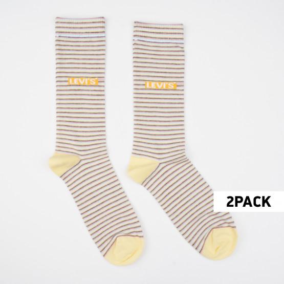 Levis Unisex Regular Cut Κάλτσες - 2 Pack