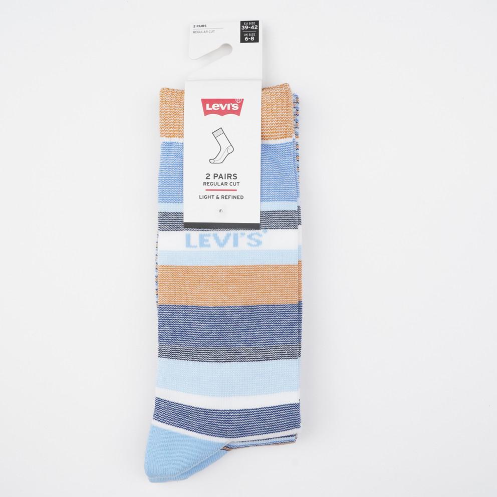 Levis Unisex Regular Cut Micro Unisex Socks - 2 Pack
