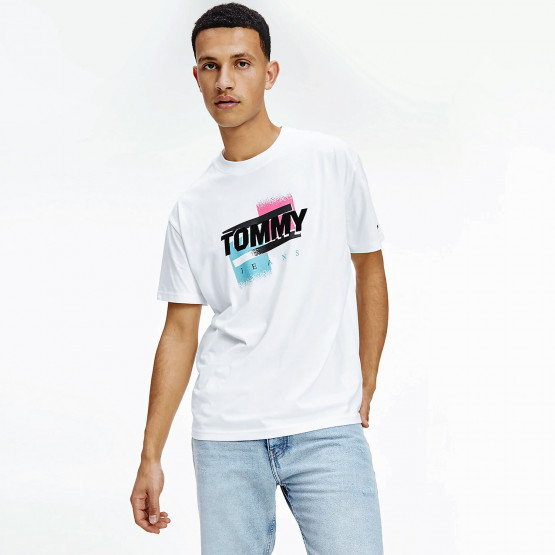 Tommy Jeans Faded Color Graphic Men's T-Shirt