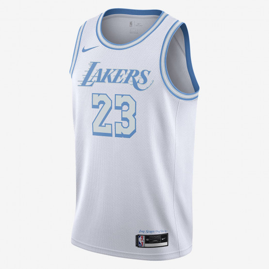Nike NBA LeBron James Los Angeles Lakers City Edition Men's Jersey