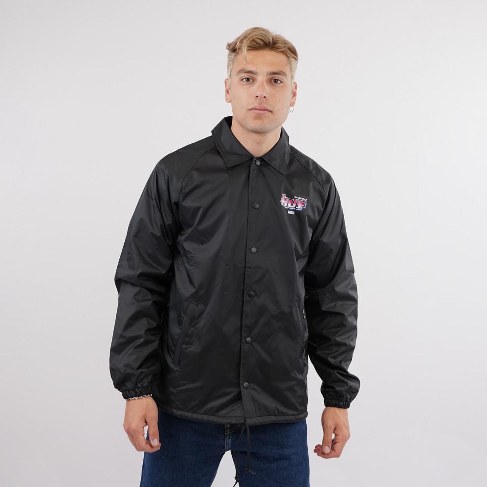 Huf x Street Fighter Chun-Li & Cammy Coach Men's  Jacket