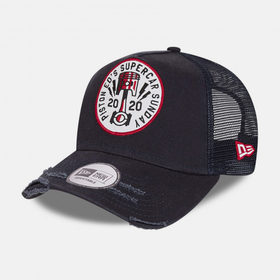 NEW ERA Race Patch Trucker   Nvy