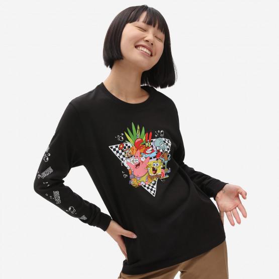 Vans x Spongebob Kids Characters Long Sleeve T-shirt