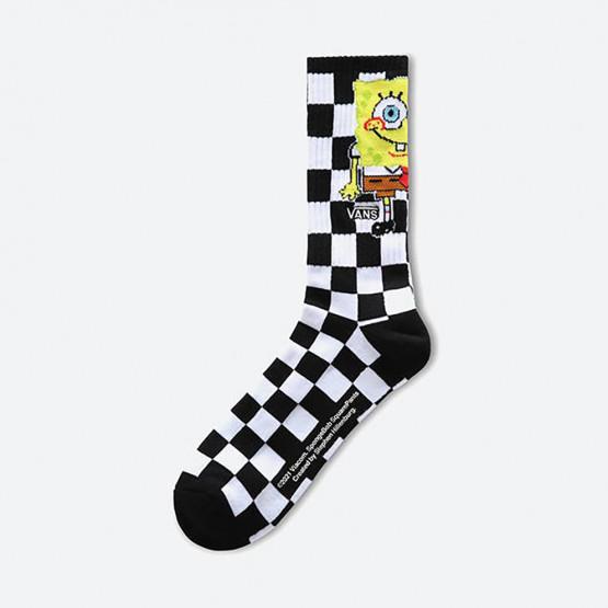 Vans Mn Vans x Spongebob Crew Ανδρικές Κάλτσες (1-6)