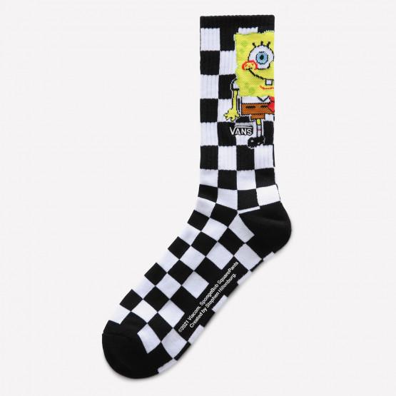 Vans Mn Vans x Spongebob Crew Ανδρικές Κάλτσες (9.5-13)