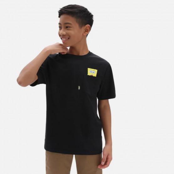 Vans x Spongebob Spotlight Pocket Παιδικό T-shirt