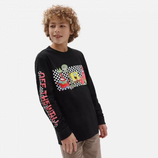 Vans x Spongebob Characters Long Sleeve Παιδικό T-shirt