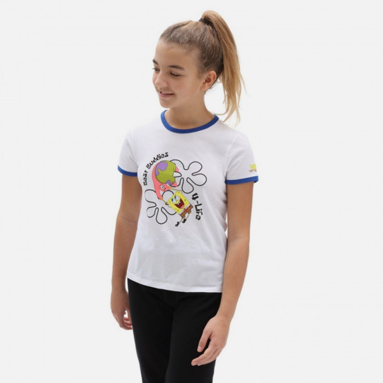 Vans x Spongebob Kids Best Buddies Παιδικό T-shirt