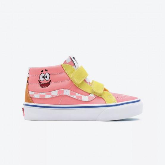 Vans x Spongebob Kids SK8 -Mid Reissue Kid's Shoes