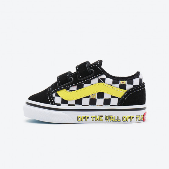 Vans x Spongebob Toddler Old Skool V Bρεφικά Παπούτσια