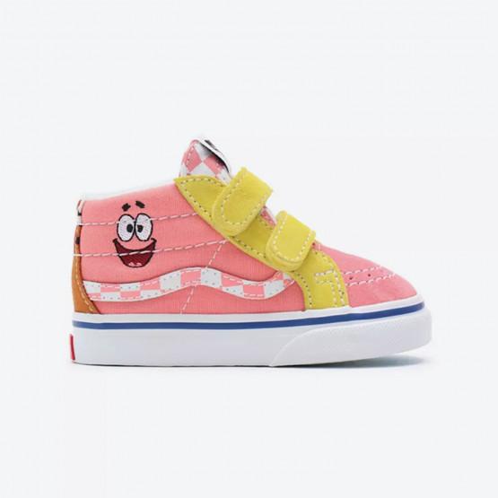 Vans x Spongebob Toddler Sk8-Mid Reissue V Bρεφικά Παπούτσια