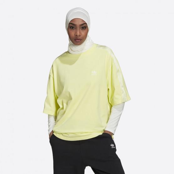 adidas Originals Adicolor Classics Satin Tape Γυναικείο T-shirt