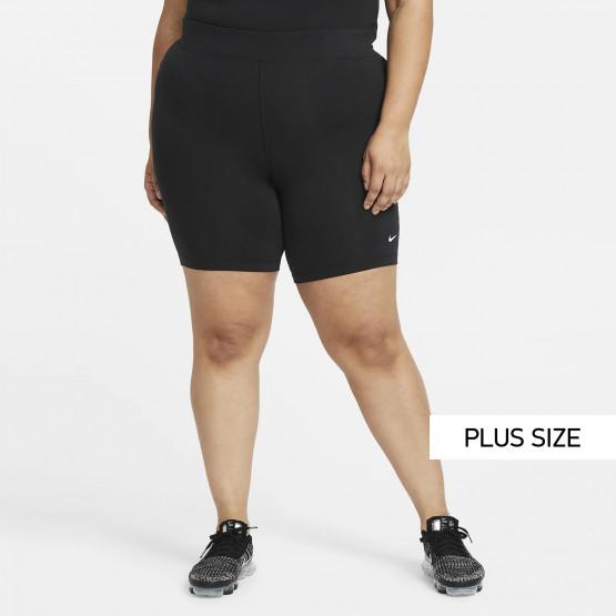 Nike Sportswear Essential Plus Size Ποδηλατικό Κολάν
