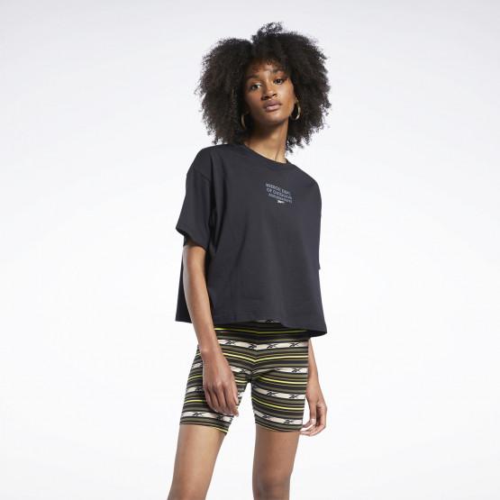 Reebok Classics Graphic Γυναιεκίο T-Shirt