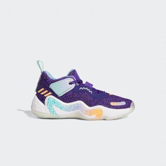 adidas Performance D.O.N. Issue 3 Παιδικά Παπούτσια Για Μπάσκετ