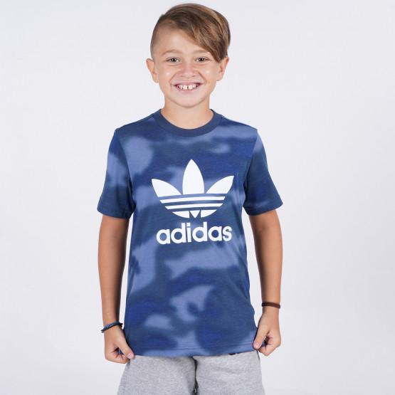 adidas Originals Allover Camo Print Kids' Tee