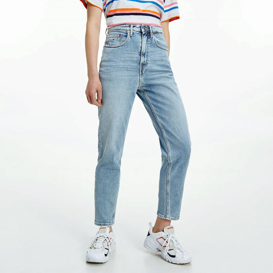 Tommy Jeans Mom Ultra High Tapered Γυναικείο Jean Παντελόνι