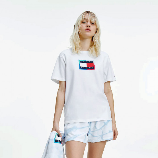 Tommy Jeans Relaxed Dye Flag Women's T-shirt