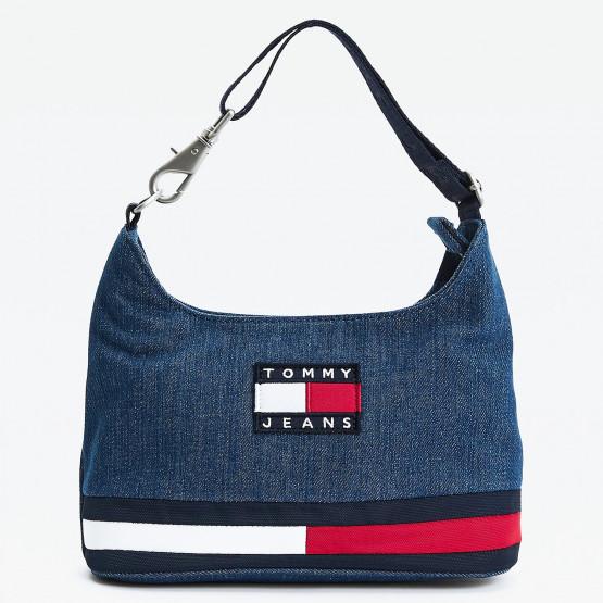 Tommy Jeans Heritage Shoulder Bag Denim
