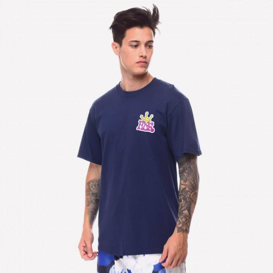 Huf Crown Logo Ανδρικό T-shirt