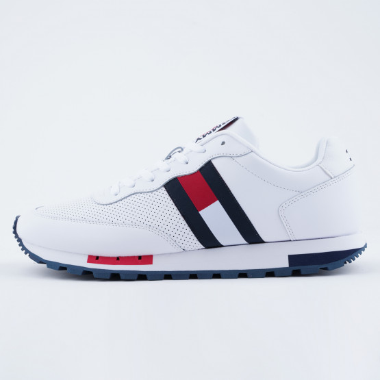 Tommy Jeans Retro Leather Runner Ανδρικά Παπούτσια