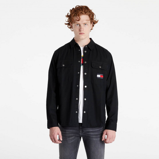 Tommy Jeans Faded Flag Overshirt