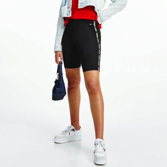 Tommy Jeans Skinny Tape Γυναικείο Ποδηλατικό Κολάν